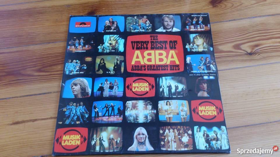 Płyta winylowa zespołu Abba