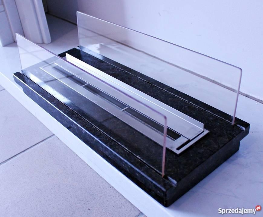 Biokominek ze szkła