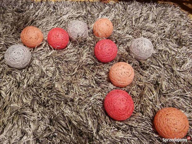 Cotton ball jako bombki