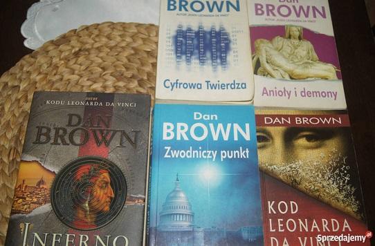 Zestaw książek Dana Browna