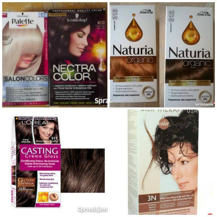 Farby do włosów różnych firm znajdziesz w internecie