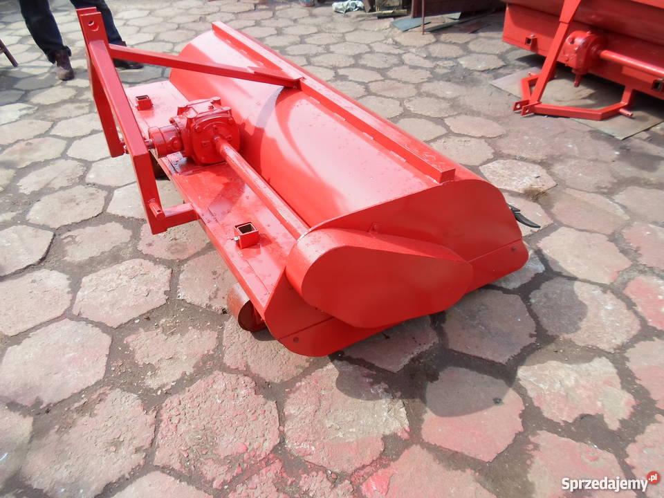Czerwona glebogryzarka