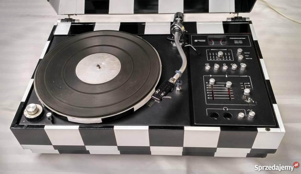 Gramofon w stylu retro