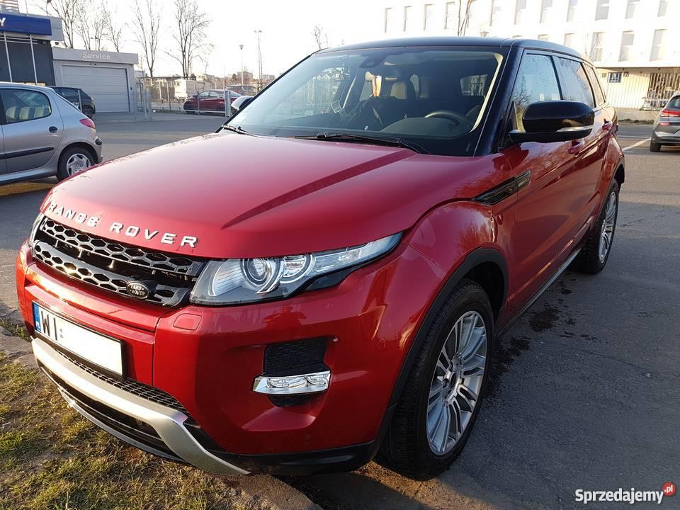 samochód Land Rover Range Rover Evoque