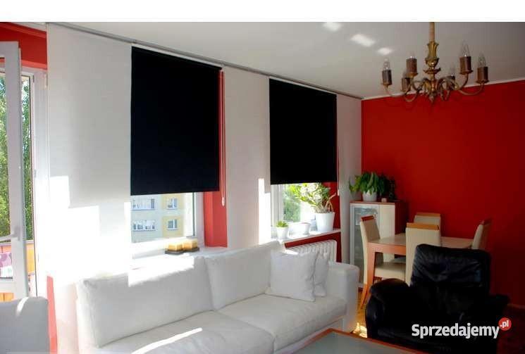 Przestronne mieszkanie z dużymi oknami