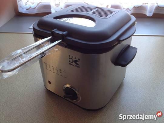 Frytkownica pozwoli na szybkie przygotowanie frytek w restauracji czy barze