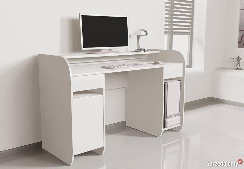 Nowoczesne biurko komputerowe