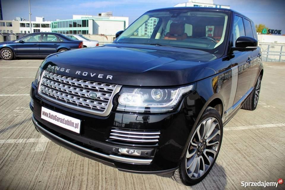 samochód Land Rover Range Rover