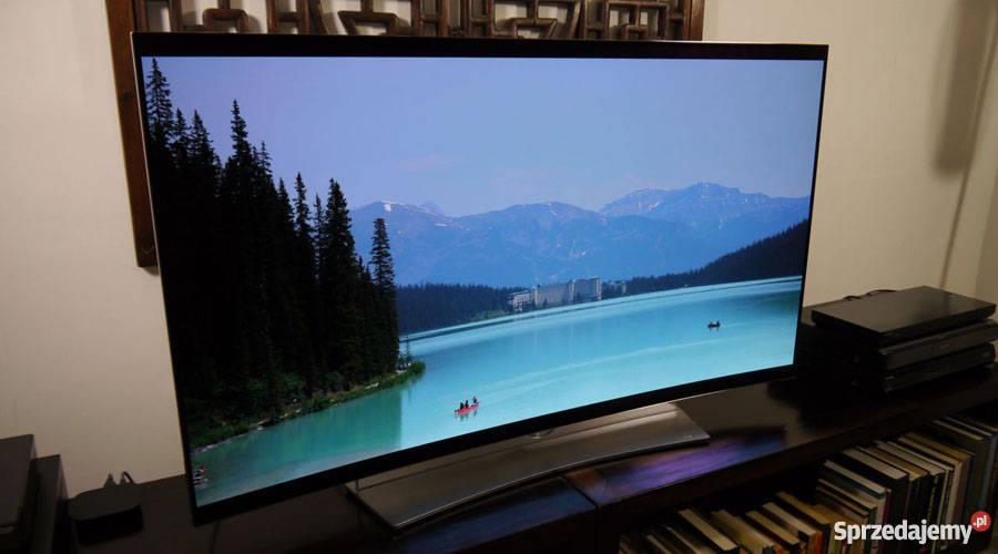 Zakrzywiony telewizor Samsung