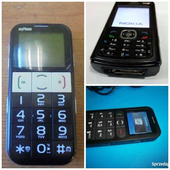 Telefon dla seniora musi miec duże przyciski