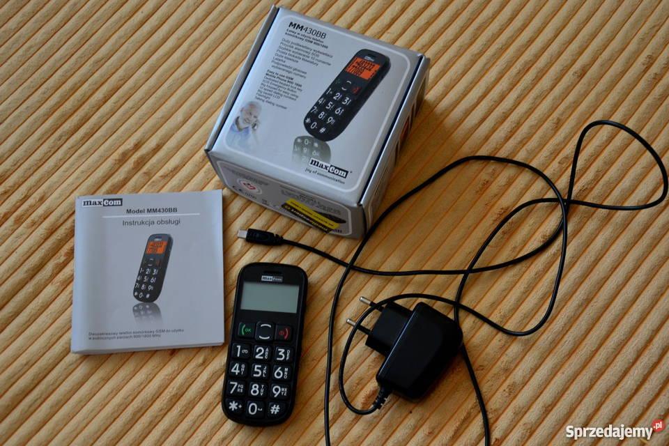 Telefon dla starszych osób