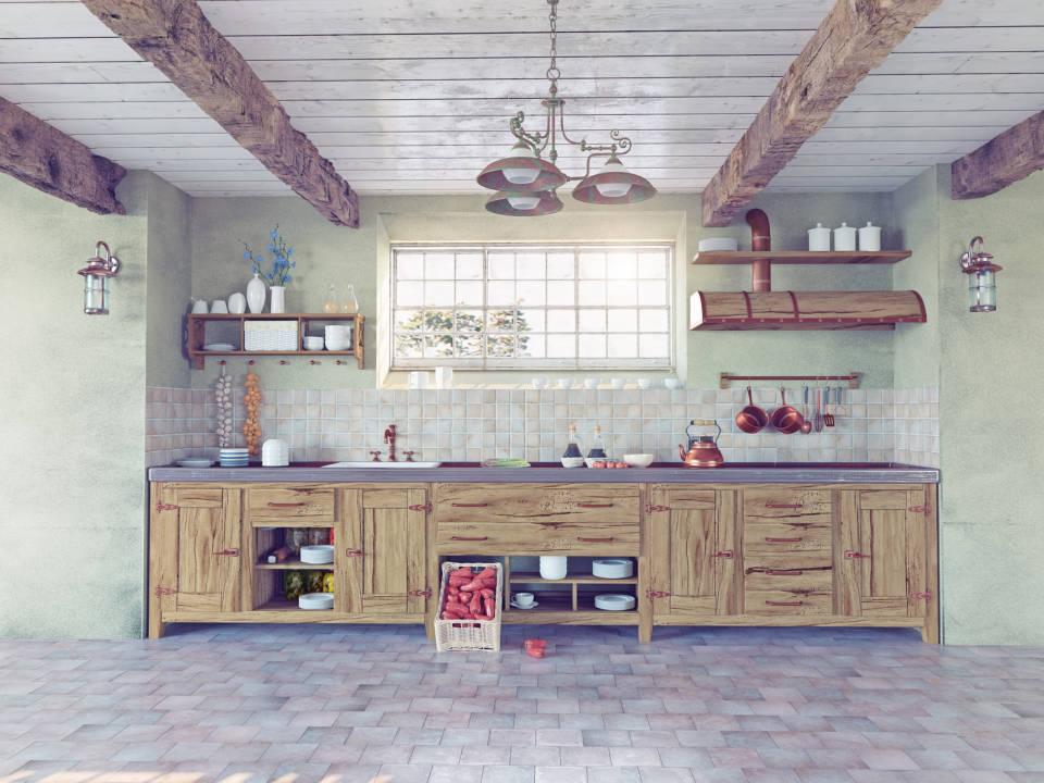 Jak urządzić kuchnię w stylu rustykalnym? Jakie kolory i dodatki wybrać?