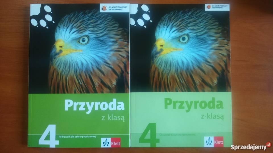 Podręczniki do przyrody do  klasy czwartej